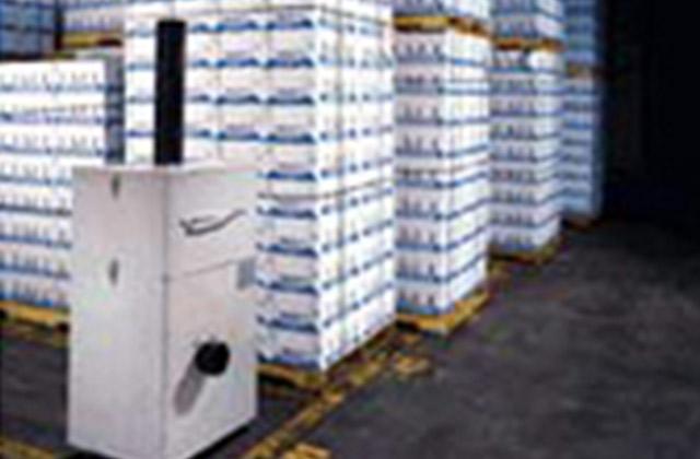 JA全農青果センター物流倉庫|鮮度保持剤 三愛エチレン・コントロール