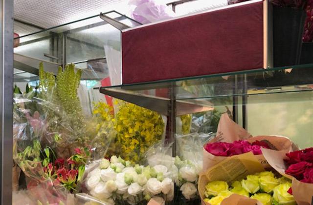花束加工工場、生花店|鮮度保持剤 三愛エチレン・コントロール